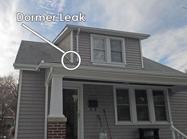 Solving The Problem Of A Leaking Dormer The Story Of The