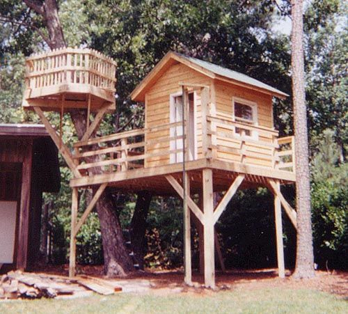 Best Of Treehouse Deck Plans