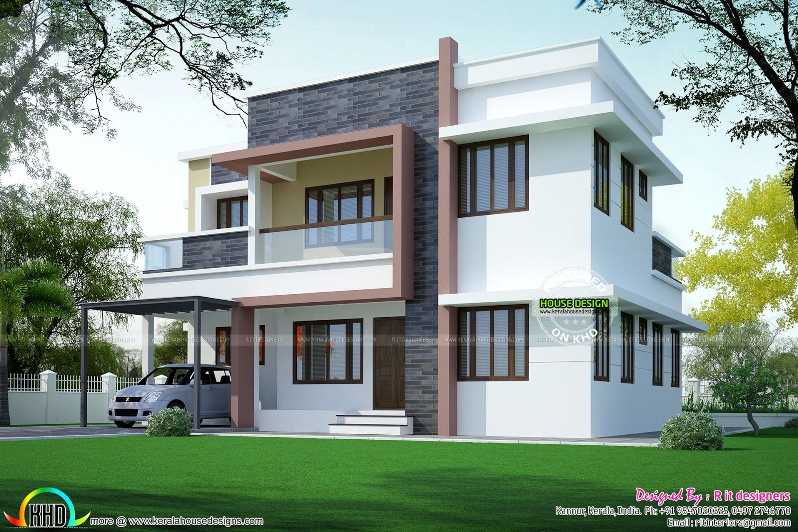 Simple home plan in modern style kerala design and also canvas of duplex plans designs fresh apartments house rh tr pinterest