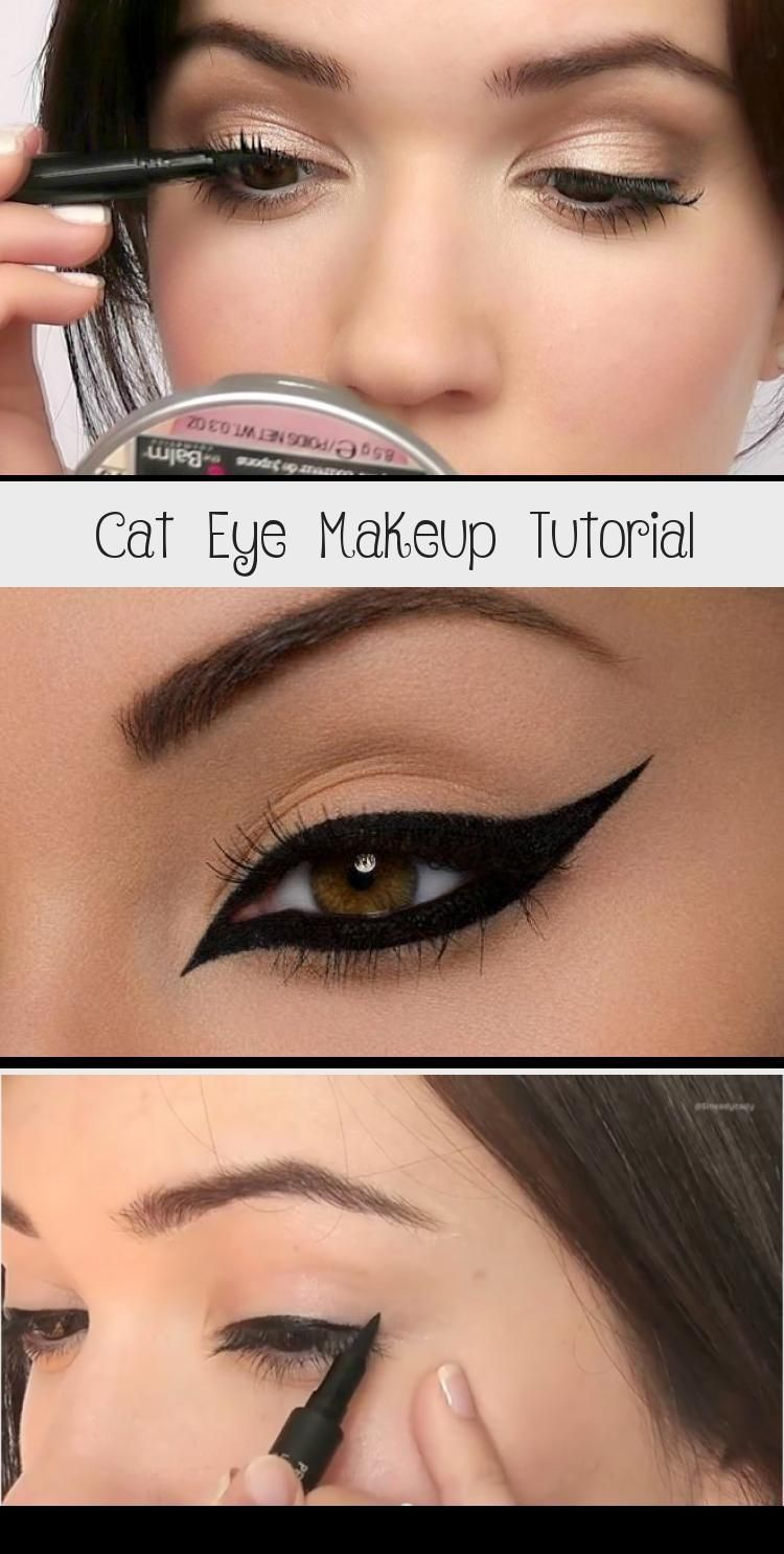 Cat Eye Makeup Tutorial - Eye Makeup - That slender shape and outline – there's something