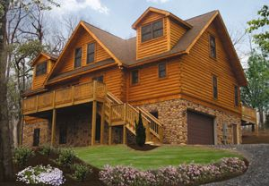 Log Cabin Home Builder South Carolina