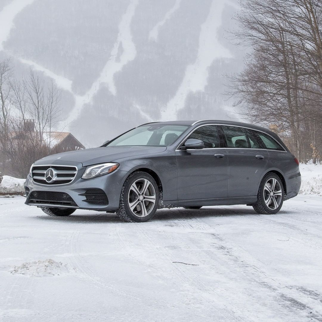 Mercedes Benz E Class Wagon Mercedes Benz Canada On Instagram Black Ice Meets Black Tie Eclass Wagon 4 Mercedes Benz Canada Mercedes Mirror With Lights