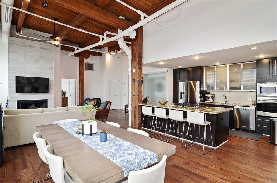 Modern Loft With Open Concept Kitchen