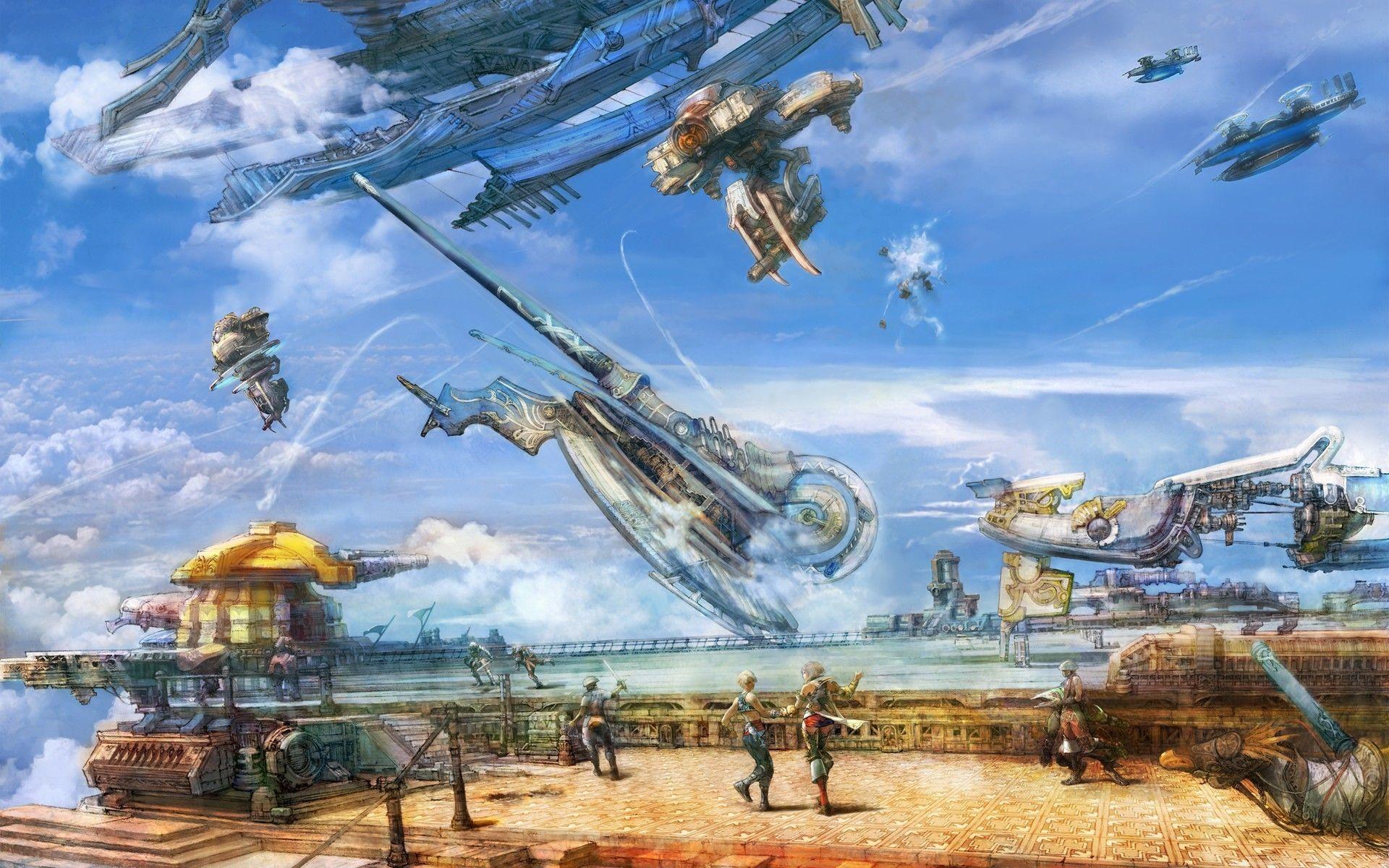 Final Fantasy Xii Vaan Airship Vehicles 1920x1200 Fantasy Xii