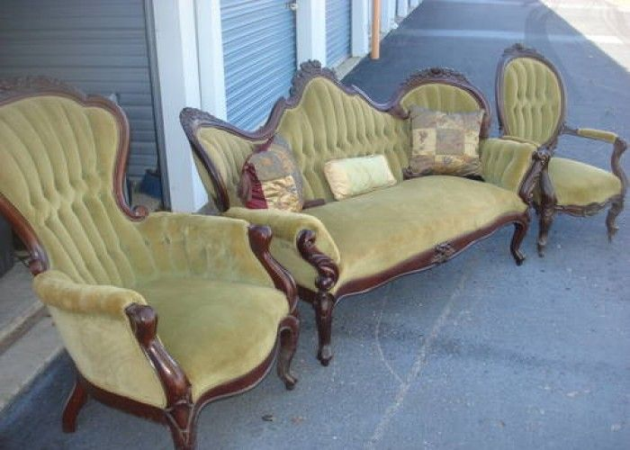 Antique Couches and Chairs