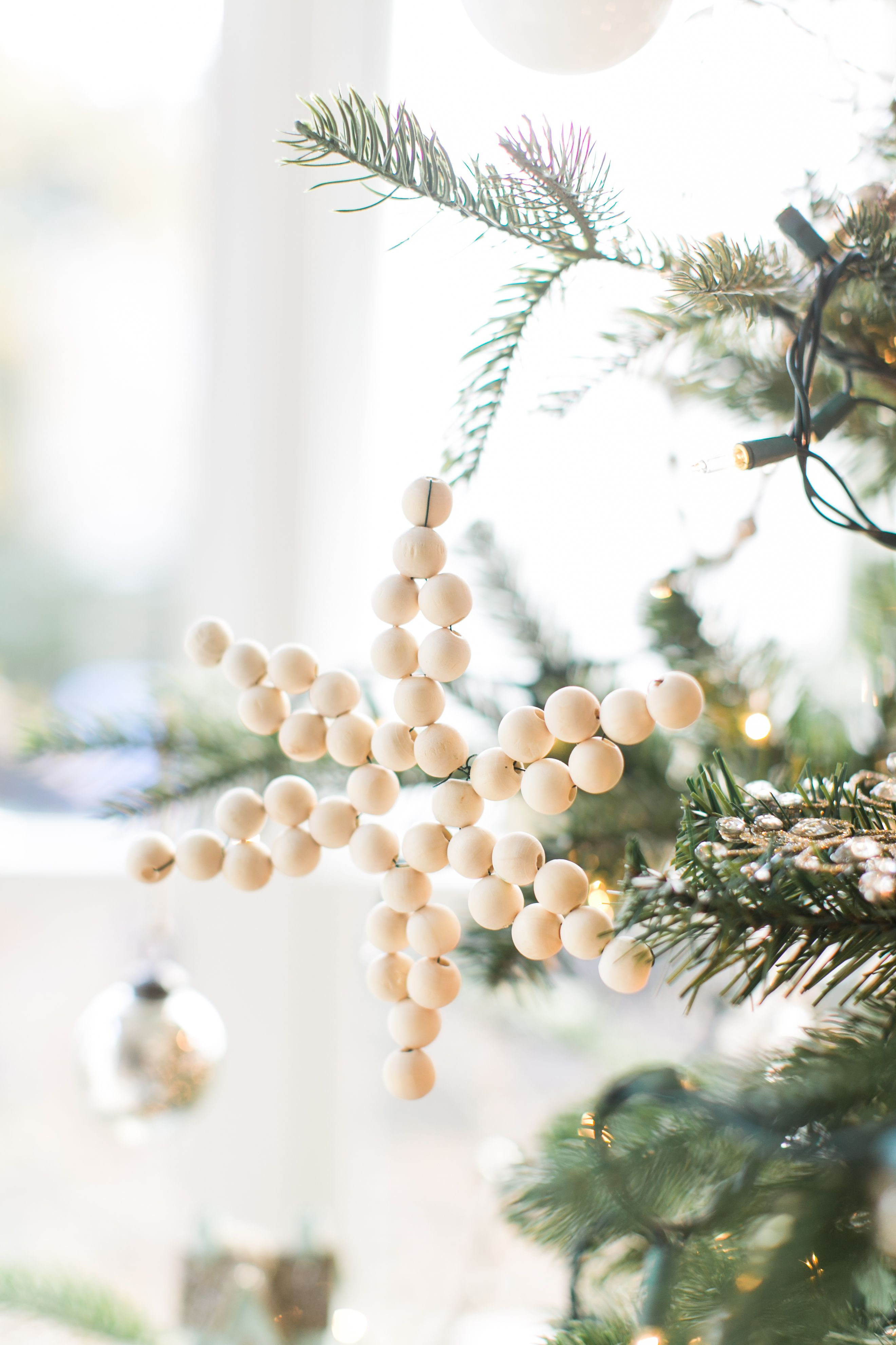 Lovely Whites and Blues Christmas Home Tour – Finding Lovely