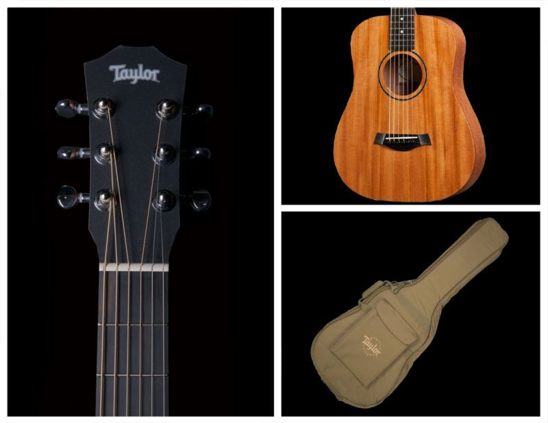 Taylor Bt2 Baby Mahogany Acoustic Guitar W Gigbag Acoustic Guitar Acoustic Guitar For Sale Baby Taylor