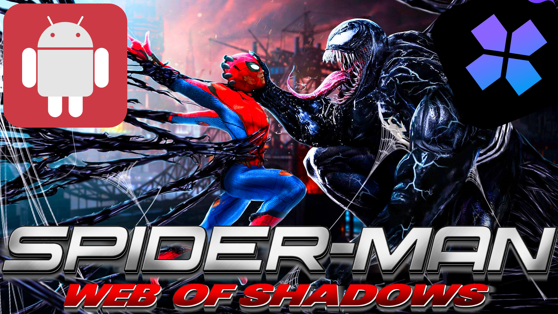 Spider Man Web Of Shadows Android Download Shadow Android Spiderman Web Spiderman