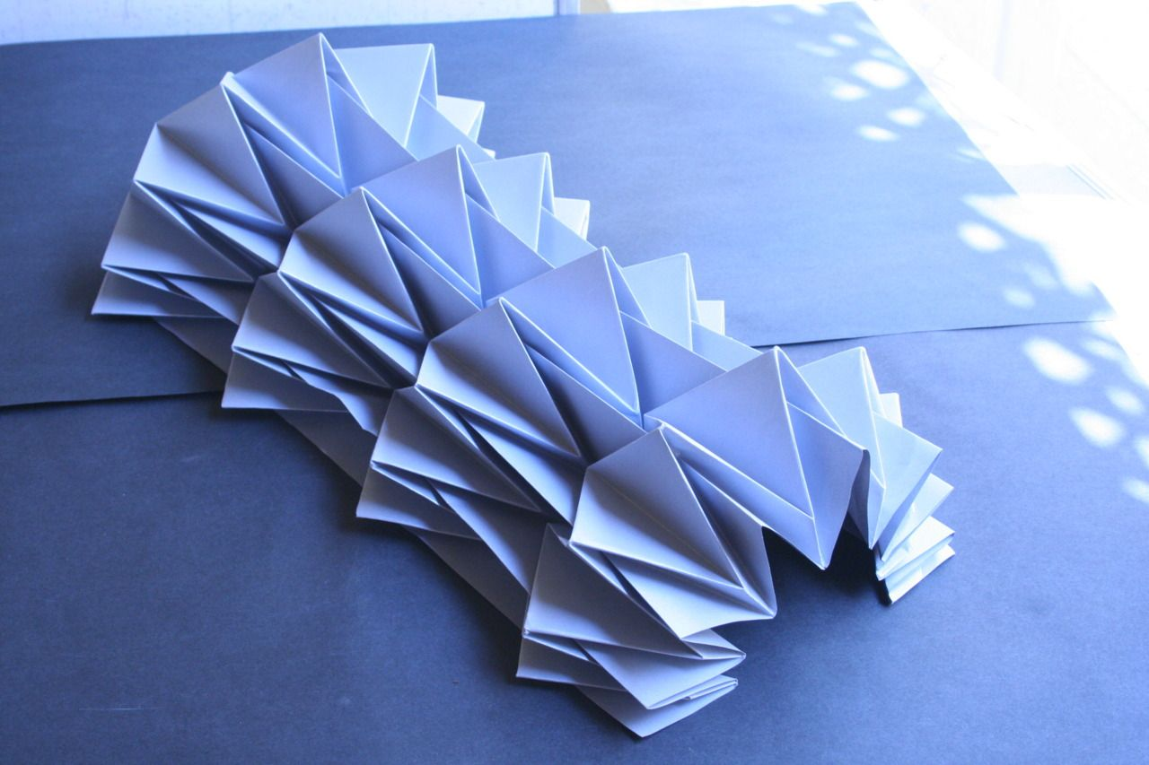 kyla mccallum: experiments into folding techniques whilst working