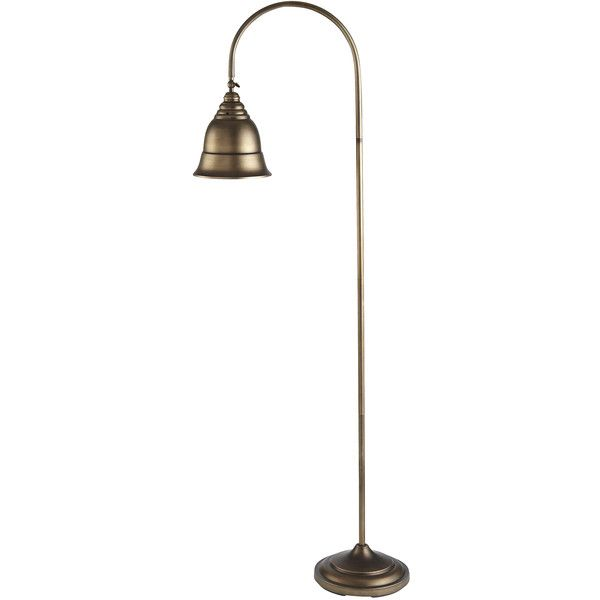 Pier 1 Imports Industrial Floor Lamp ($70) ❤ liked on Polyvore ...