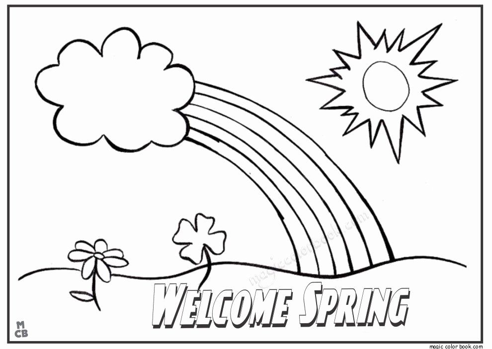 Spring Coloring Pages Best Of Slippery Fish