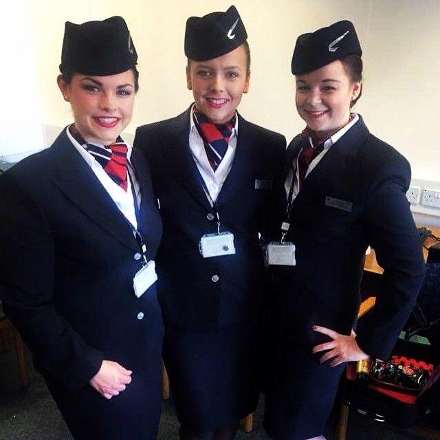 First day in uniform #britishairways#cabincrew\