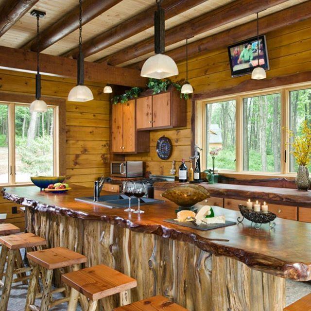 Ranchos Rusticos Estilo Americano Com Imagens Cozinhas