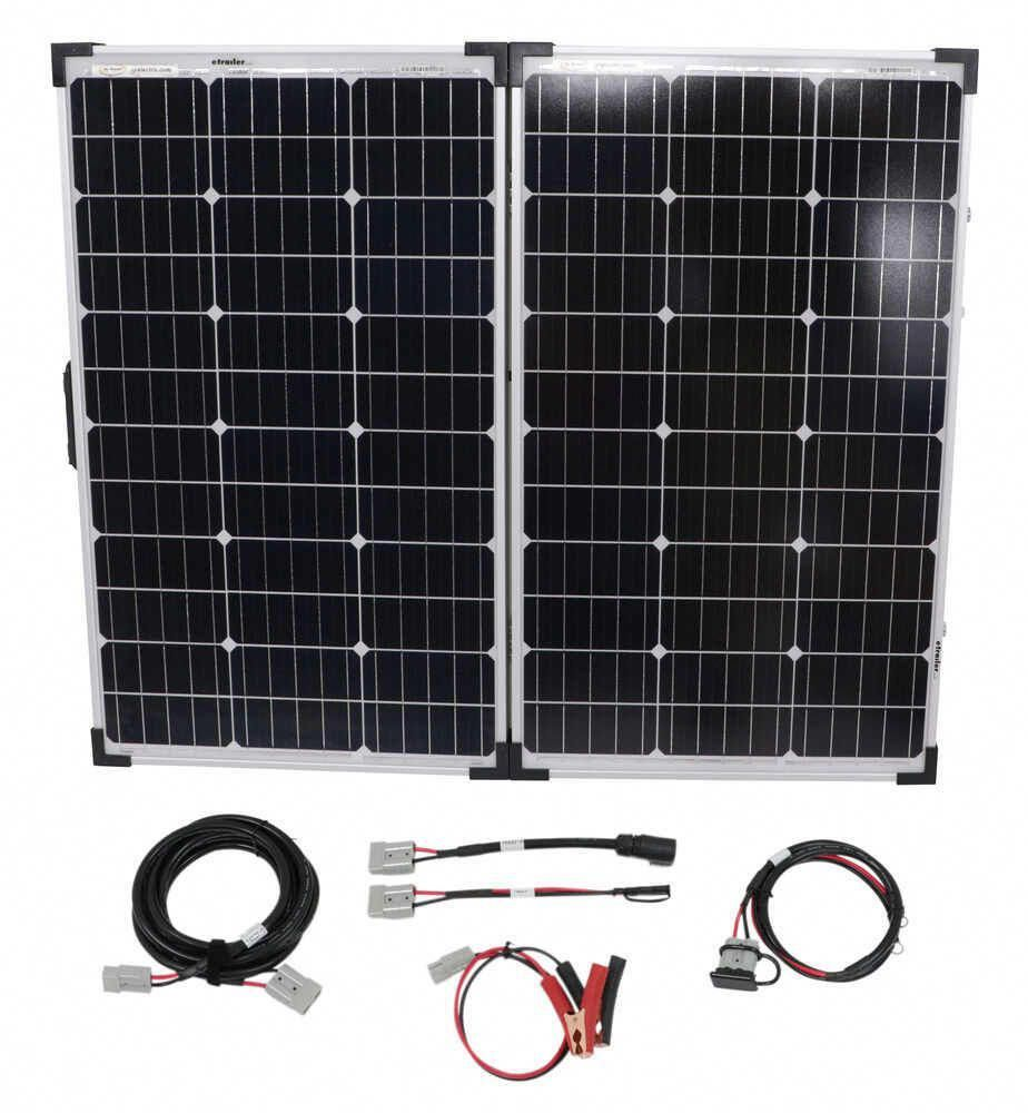 Go Power Portable Solar System With Digital Solar Controller 130 Watt Solar Panel Go Power Rv Solar Panels In 2020 Solar Energy Panels Solar Projects Rv Solar Panels