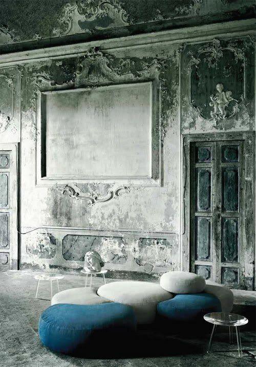 klassisch grunge einrichtung kombiniert sofas sessel bequem