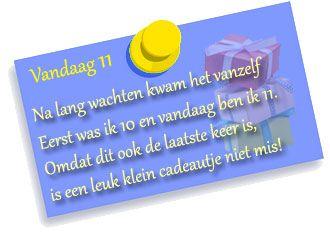 11 Jaar Verjaardag Tekst Plaatjes Leuke 11 Jaar Verjaardag Tekst