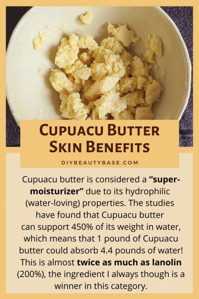 Cupuacu Butter Skin Benefits & Uses in Skincare in 2020 ...