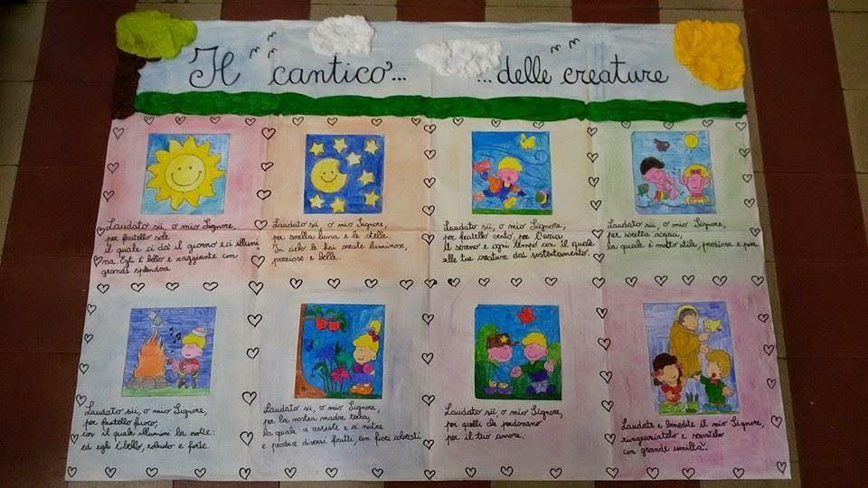 Cartelloni bambini ~ Cartellone il cantico delle creature.jpg 960×540 francy79