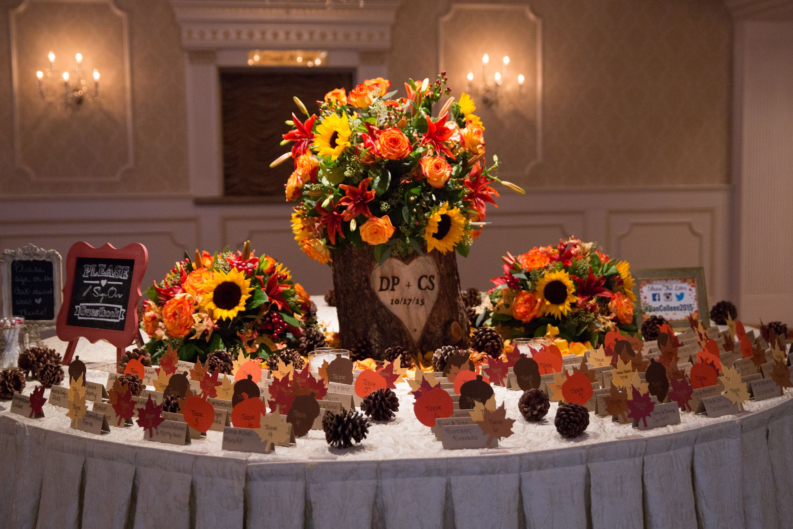 Fall wedding decor rustic wedding fall wedding place Places to have a fall wedding