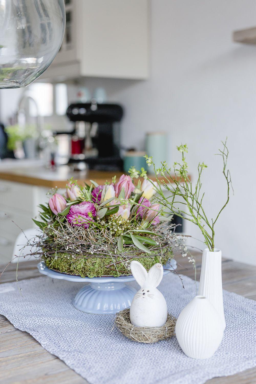 Natürliche Dekoideen zu Frühling und Ostern • Pomponetti