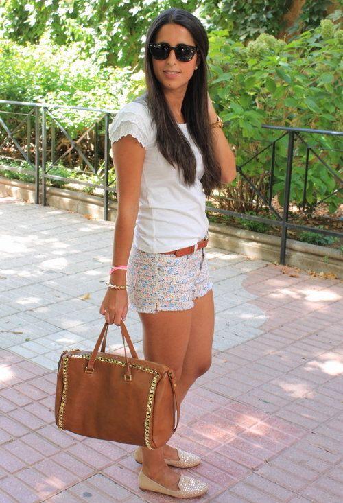slippers , oasap en Camisetas, zara new collection en Bolsos, Zara en Zapato plano, Primark en Pantalones cortos
