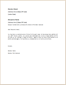 Rejection Letter Download At HttpWwwTemplateinnCom