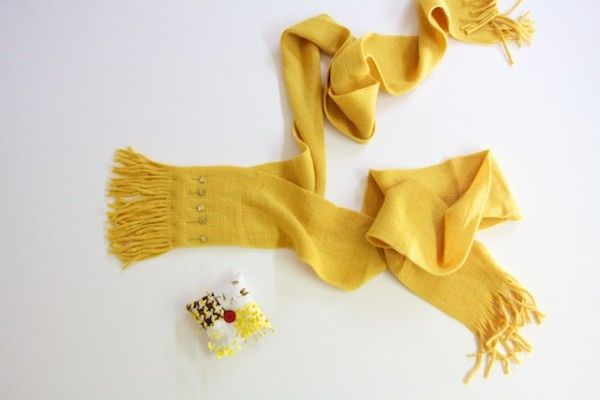 12 Quick And Easy DIY Ideas For Make A Fashionable Scarves - Nadyana Magazine