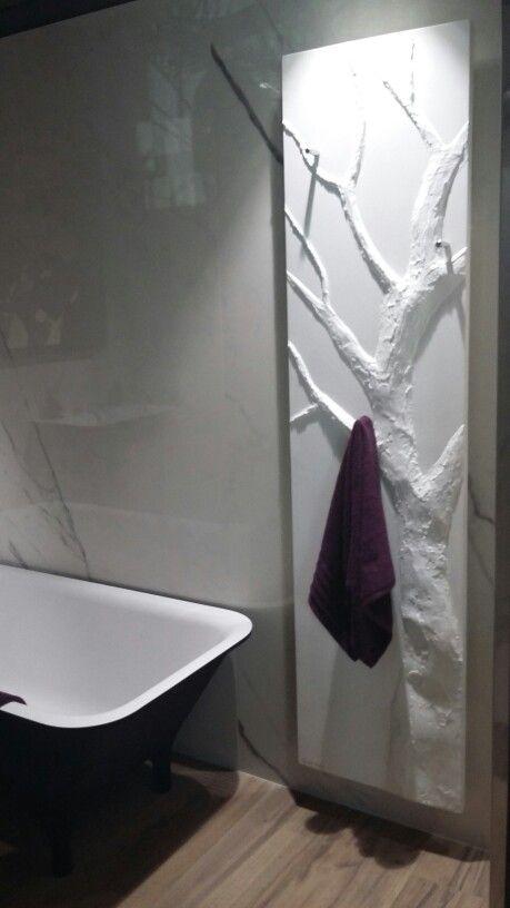 Radiateur sèche serviettes Cinier افكار Pinterest - Plinthe Salle De Bain