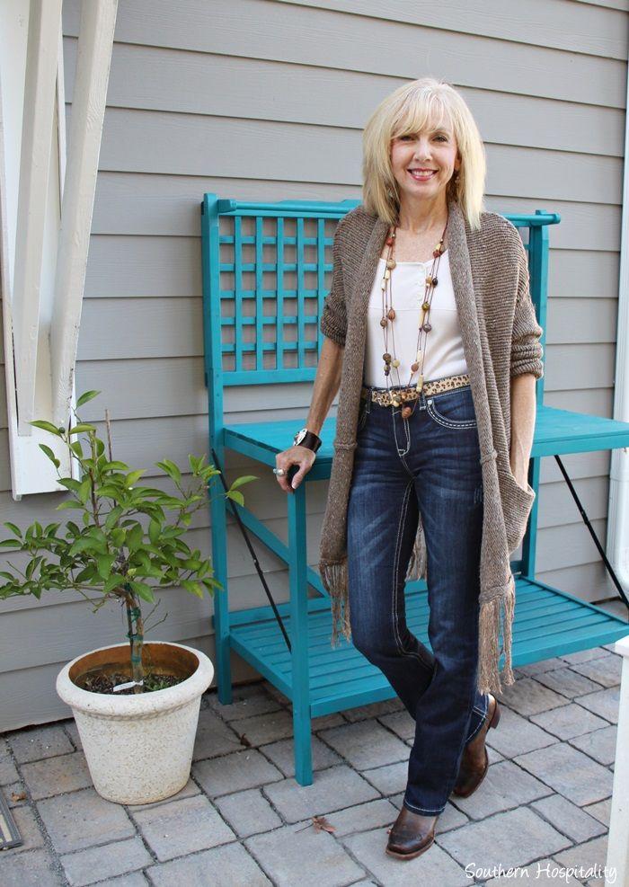Fashion Over 50 Long Sweaters  Fashion Autumn 2015 -6407