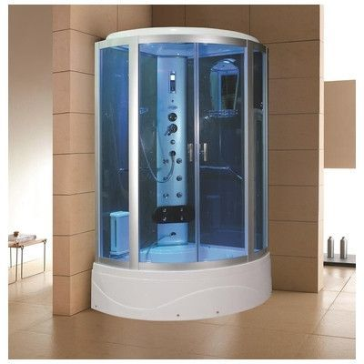 Beautiful 2 Person Steam Shower Sauna Combo