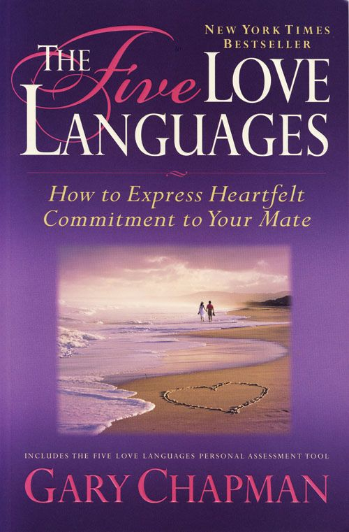 "The five love languages ""This is something every couple should read!"""