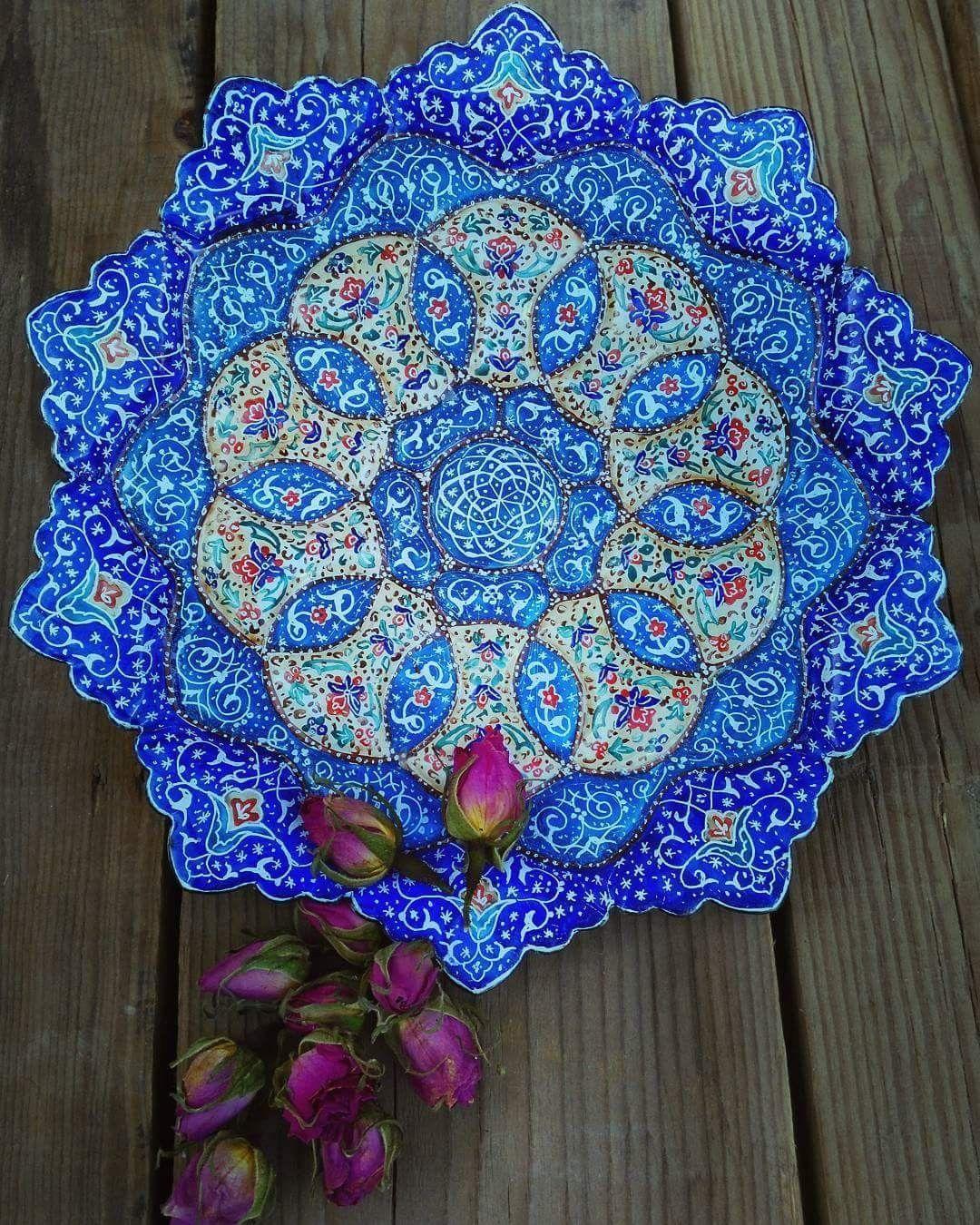 Beautiful Iranian Handicrafts in Isfahan, IRAN. 🇮🇷 In ...