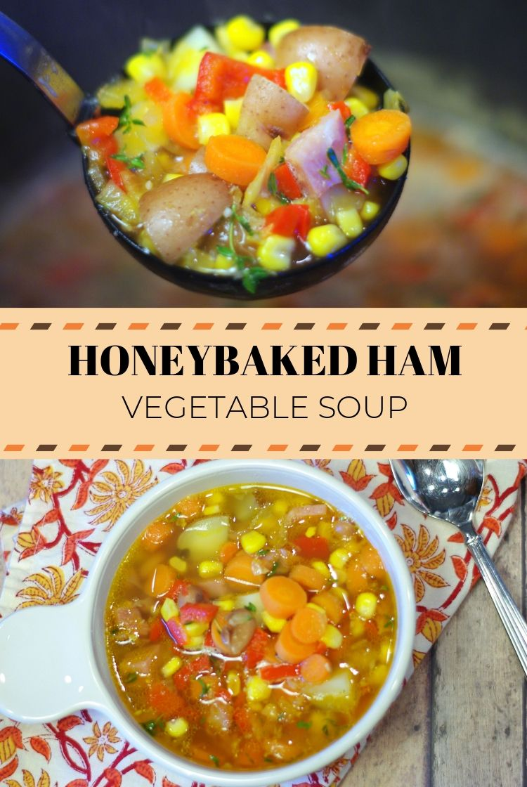 Honeybaked Ham Vegetable Soup This delicious soup uses