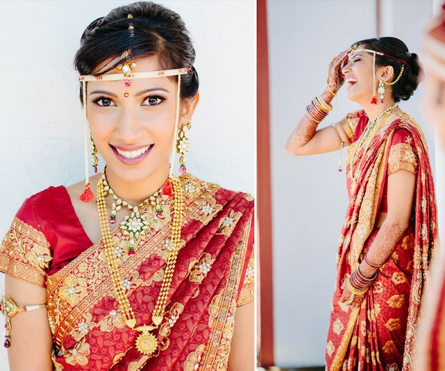 Marathi Bridal Hairstyle : Wedding planner real marathi brides bridal