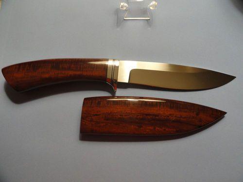 Custom Hunter Fixed Blade Knives by David Brodziak
