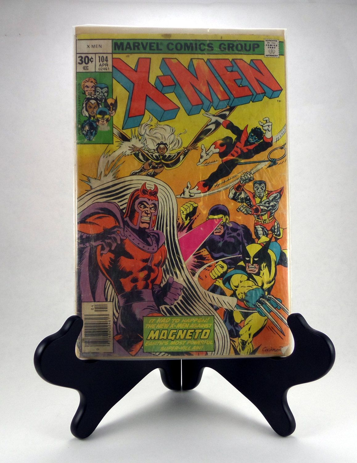 X-Men 104 - Vintage X-Men Comic Book - Bronze Age X-Men Comic by AmalgamationCapital on Etsy
