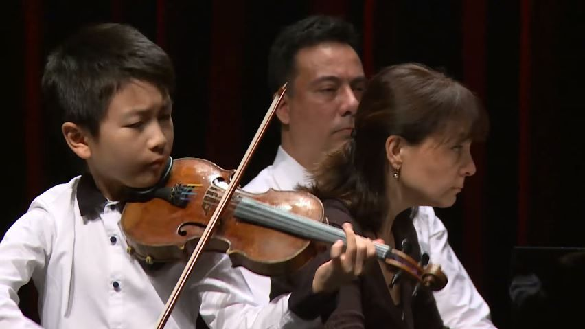 Christian Li Plays Johann Sebastian Bach Henryk Wieniawski Antonin Dvorak Menuhin Competition 2018 Junior Fi Sebastian Bach Competition Music Performance