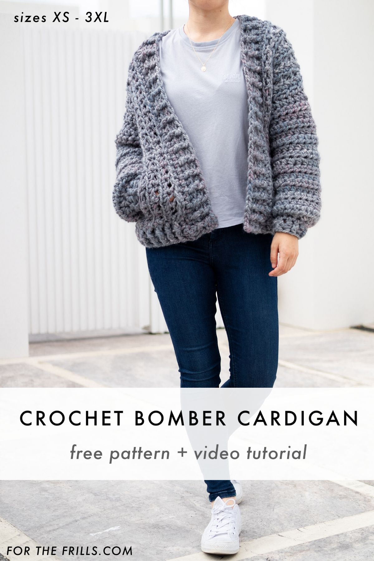 Photo of Learn how to crochet a chunky cardigan with this easy step-by-step video tutoria…