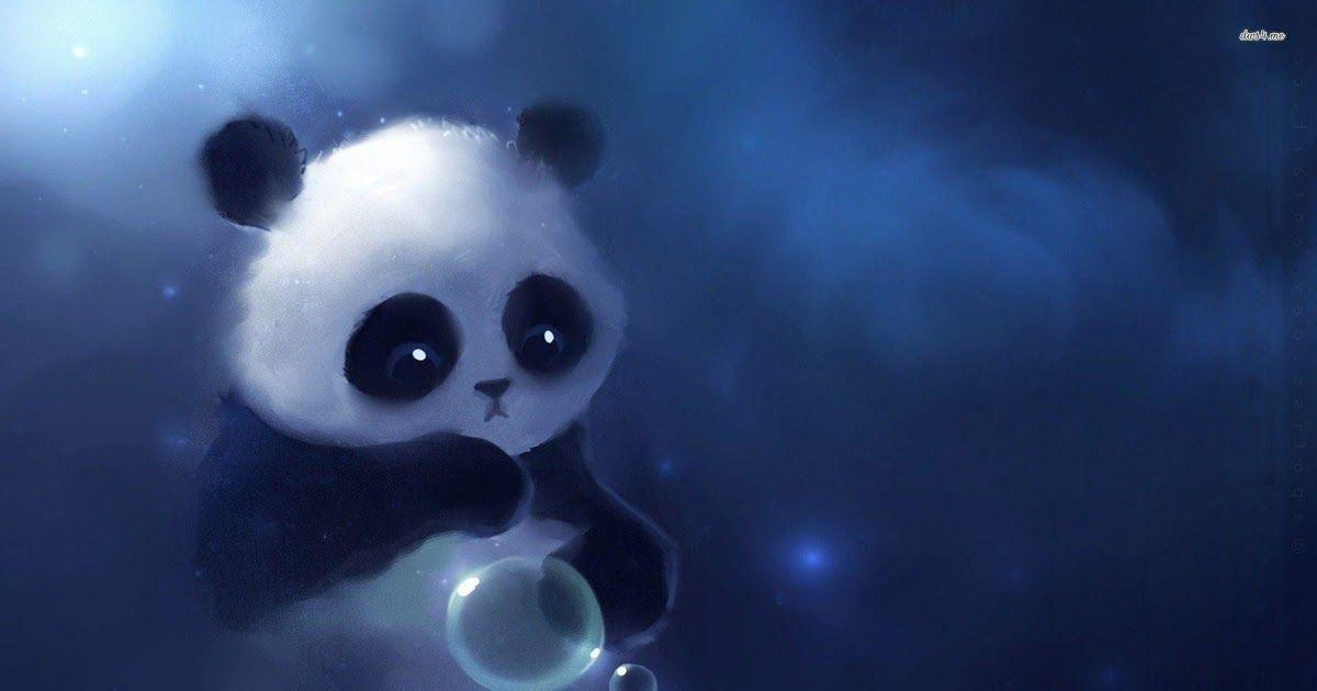 2021 Animasi Gambar Kartun Lucu Dan Imut Panda Terupdate