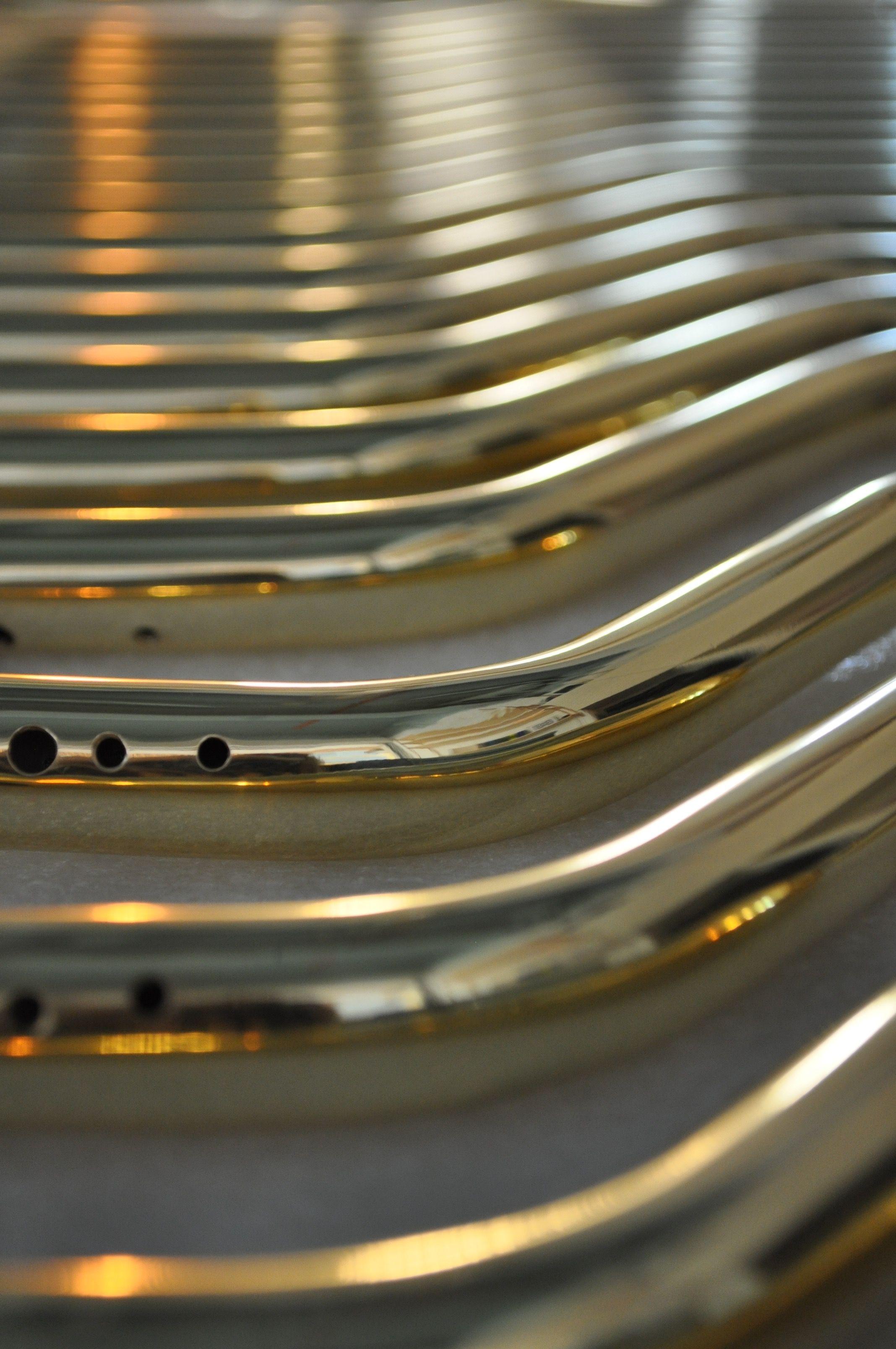 Appliques Restaurant Tube laiton Coupelle laiton Boule de