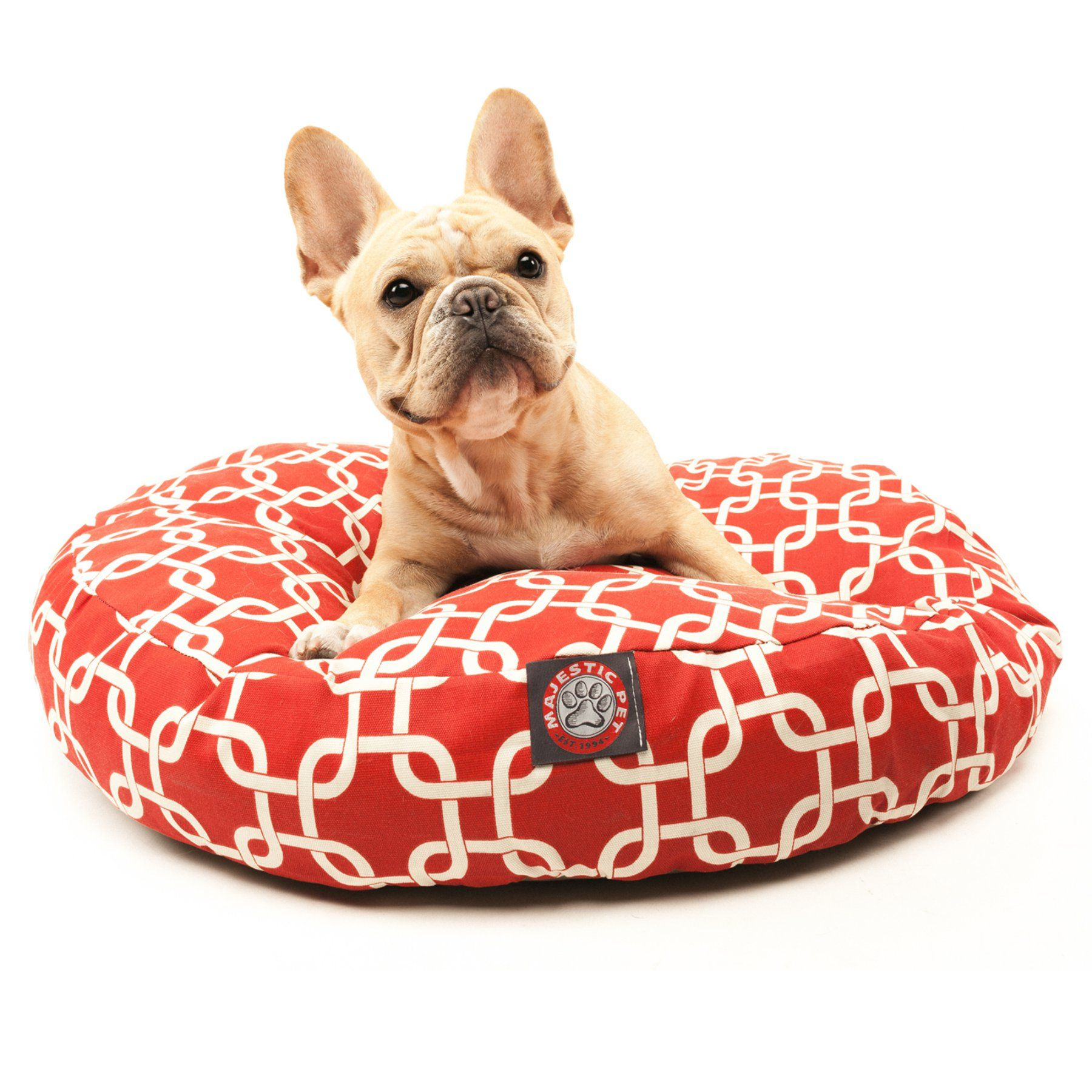 Superb Majestic Pet Links Round Pet Bed 78899550628 Products Creativecarmelina Interior Chair Design Creativecarmelinacom