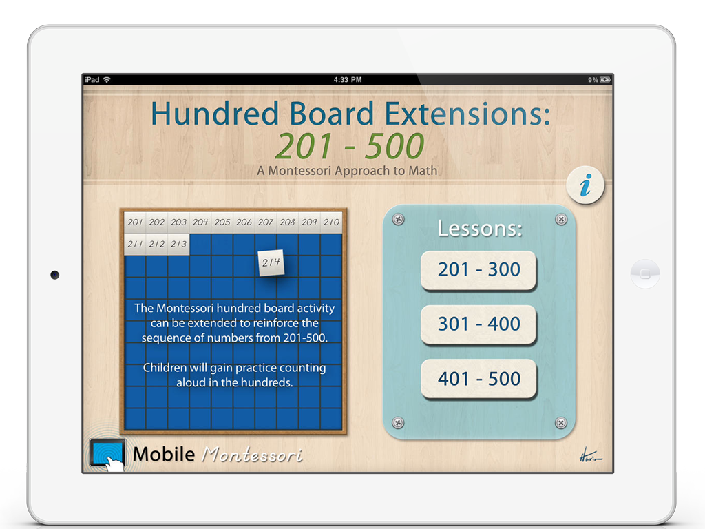 Hundred Board 201