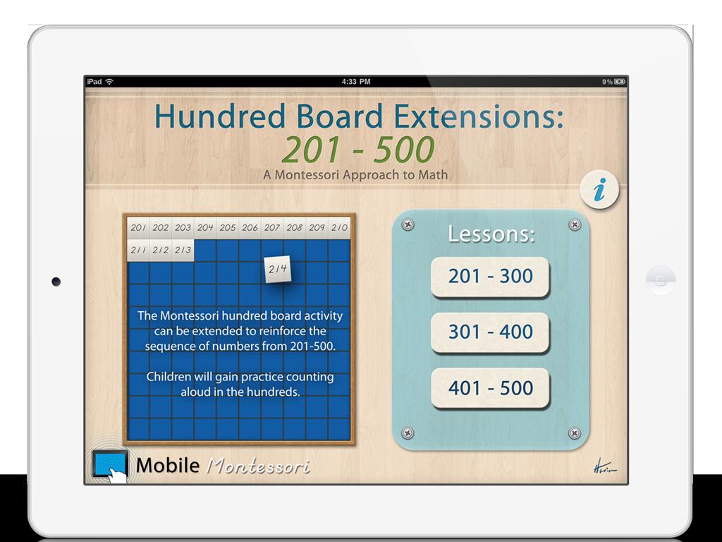 Hundred Board 201
