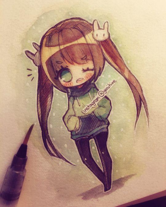 yoai a anime drawings sketcheskawaii drawingsgirl