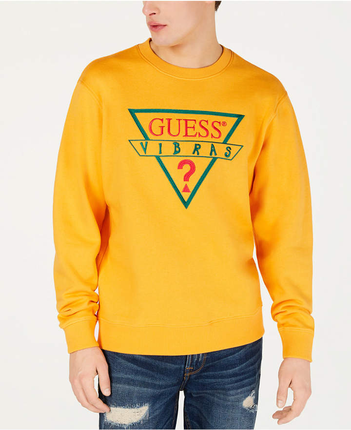 c1e5b54837 J Balvin X Guess Men's Logo Sweatshirt - Yellow XL in 2019 ...