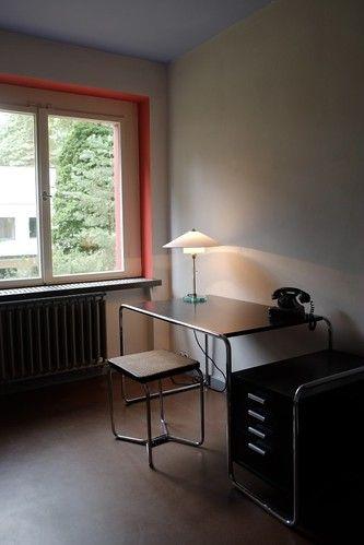 Directors Office designed by Walter Gropius Deco