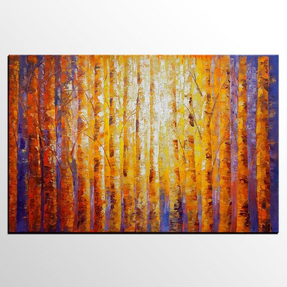 Grande del arte arte de la gran pared lienzo pintura de