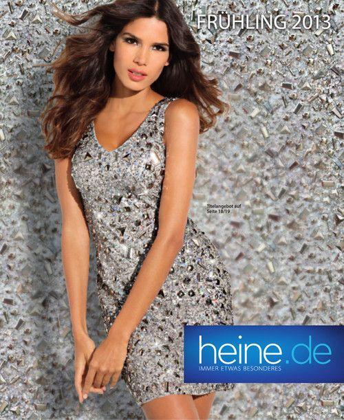 heine Frühling 2013 - heine präsentiert in seinem neuen Katalog die Frühjahrskollektionen 2013.