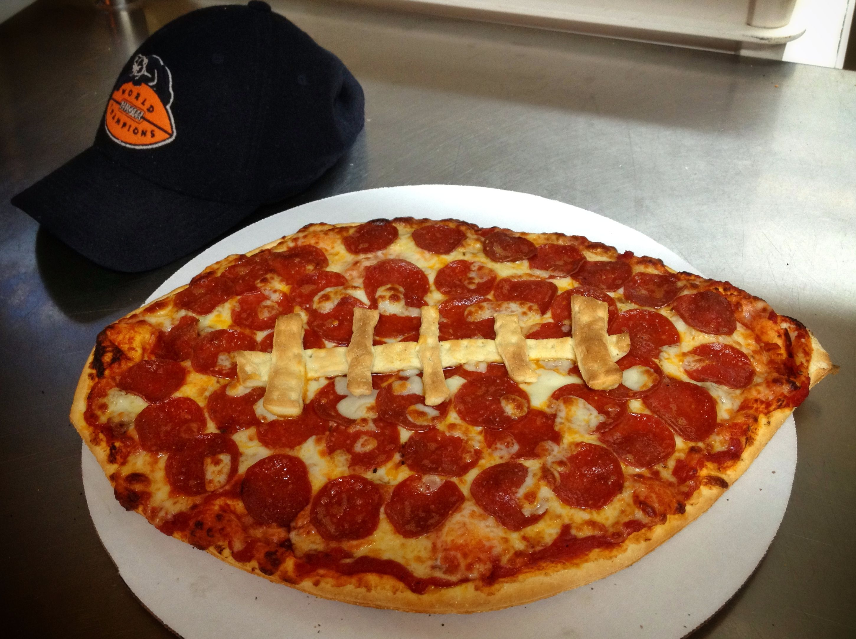 Football Pizza To Help Celebrate The Bear S Season