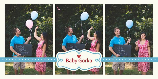 17 Best images about Gender announcement – Baby Gender Announcements